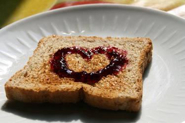 i LOVE toast by SunsetVampiress