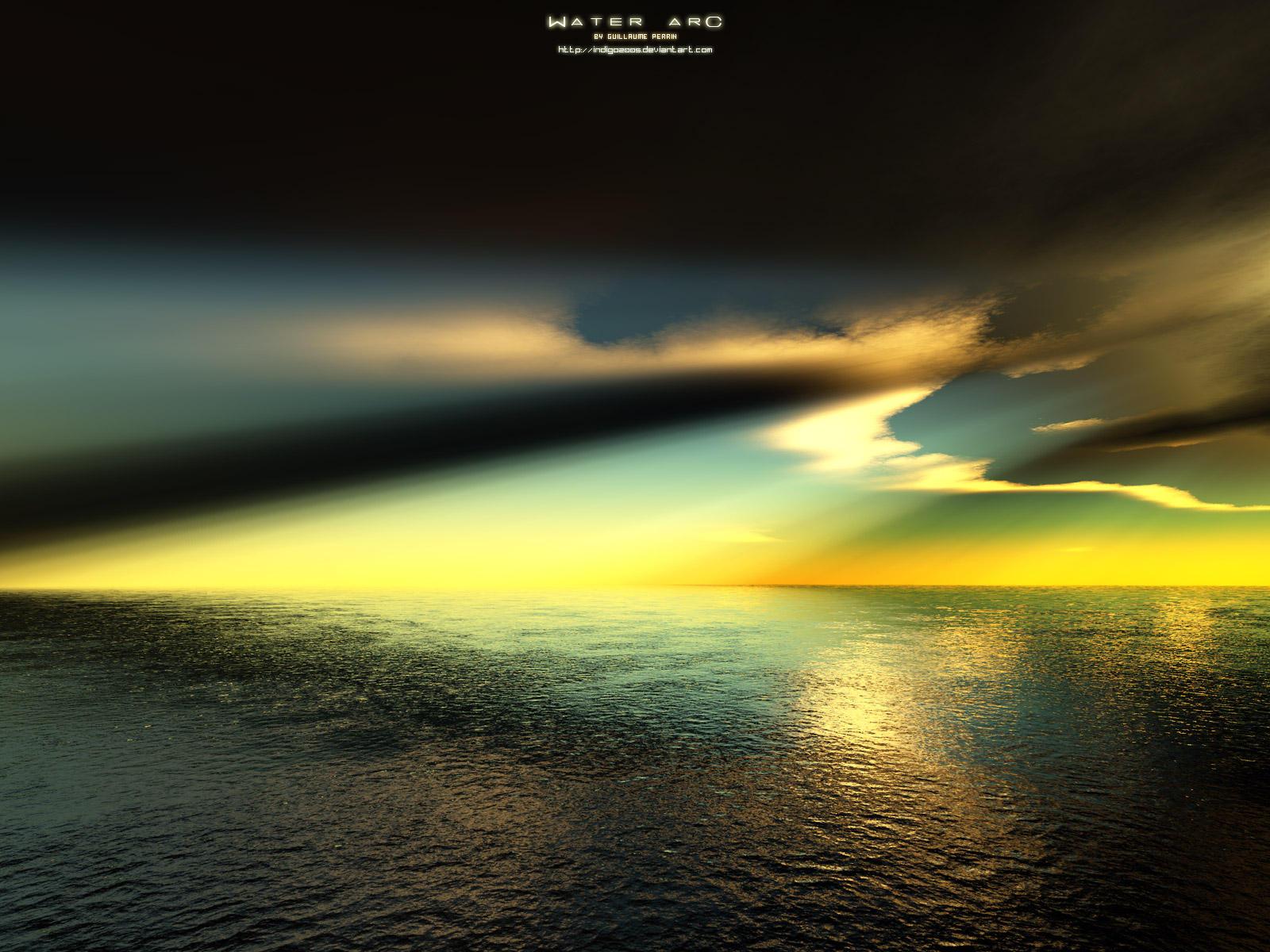 Water Arc by Indigo2005