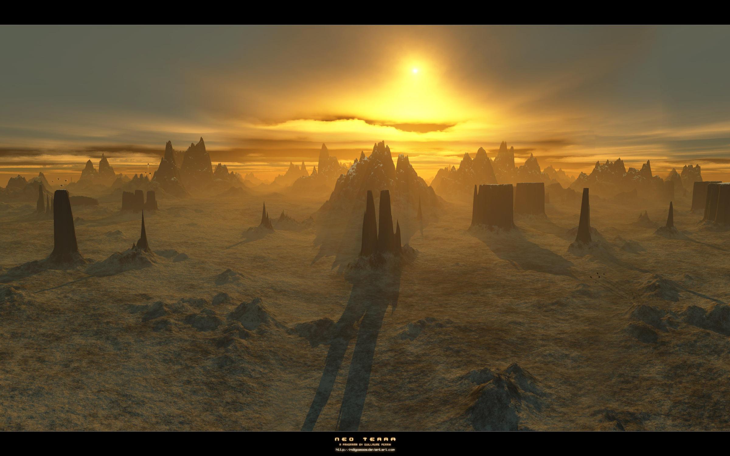 Panorama - Neo Terra by Indigo2005