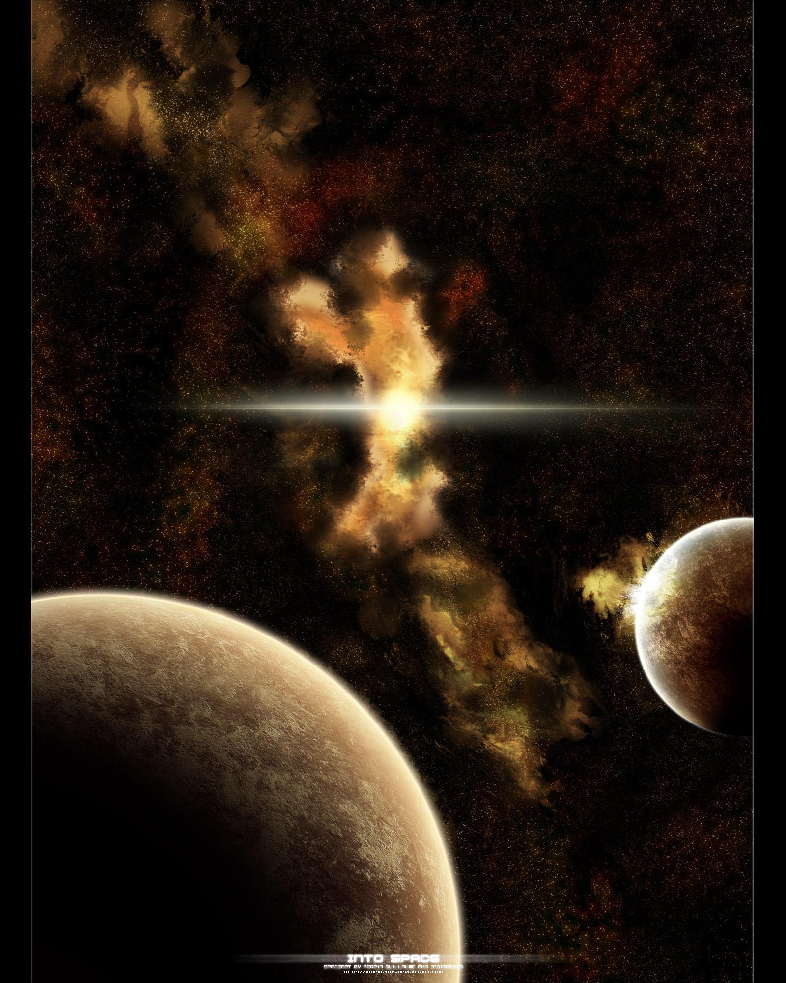 Into Space by Indigo2005