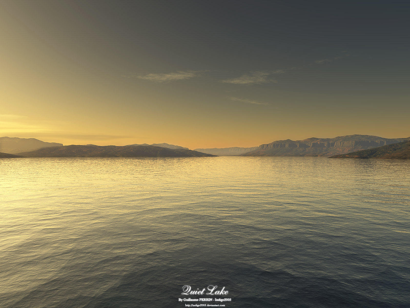 Quiet Lake by Indigo2005
