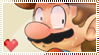 Mario Stamp by Sugared-Almond