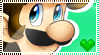 Luigi Stamp by Sugared-Almond