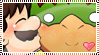 Mario x Bowser Stamp by Sugared-Almond
