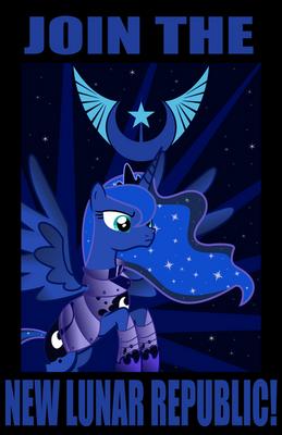New Lunar Republic Propaganda Poster