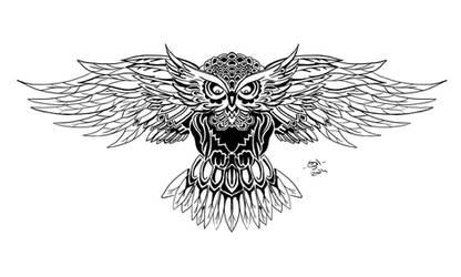 Owl tatoo