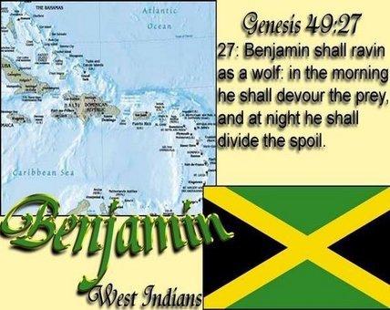 Tribe of Benjamin So called Jamaicans,Trindadians by 12TribesOfIsrael