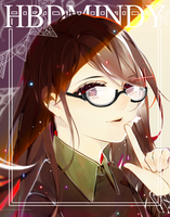 HBD MNIDY !!! by yenjii