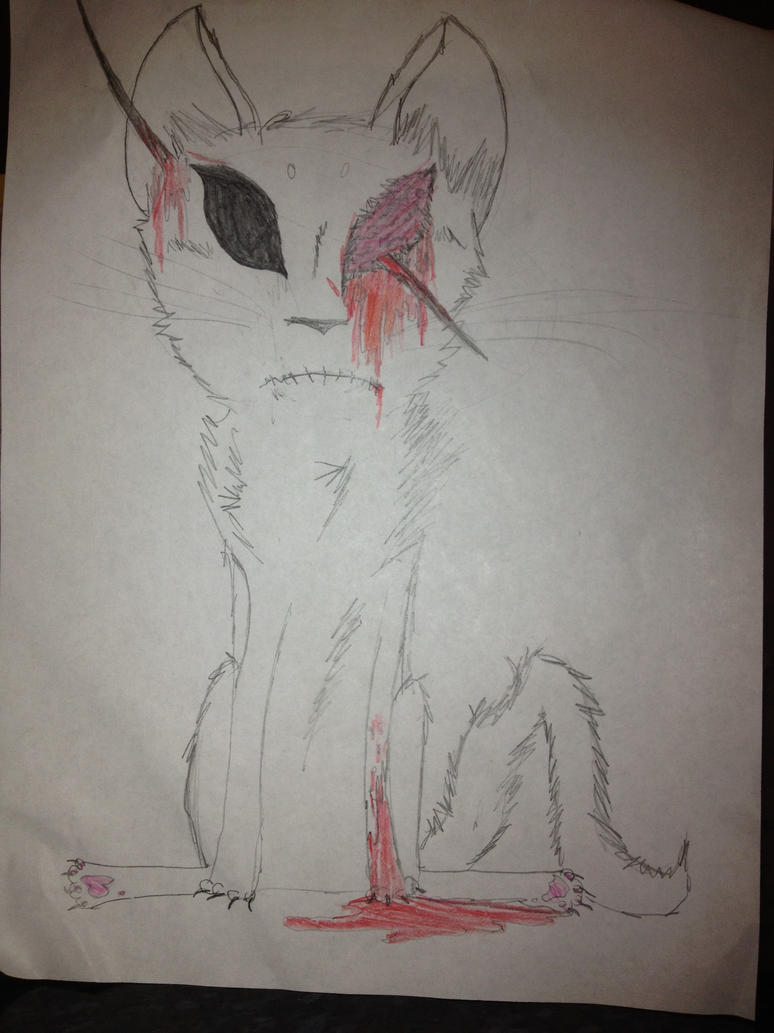 Gore Cat by TheSpiritCatcher