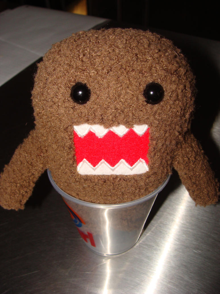 domo in a cup by sunnenx3 on deviantart