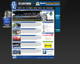 Soccer Team Website by amazingmdL