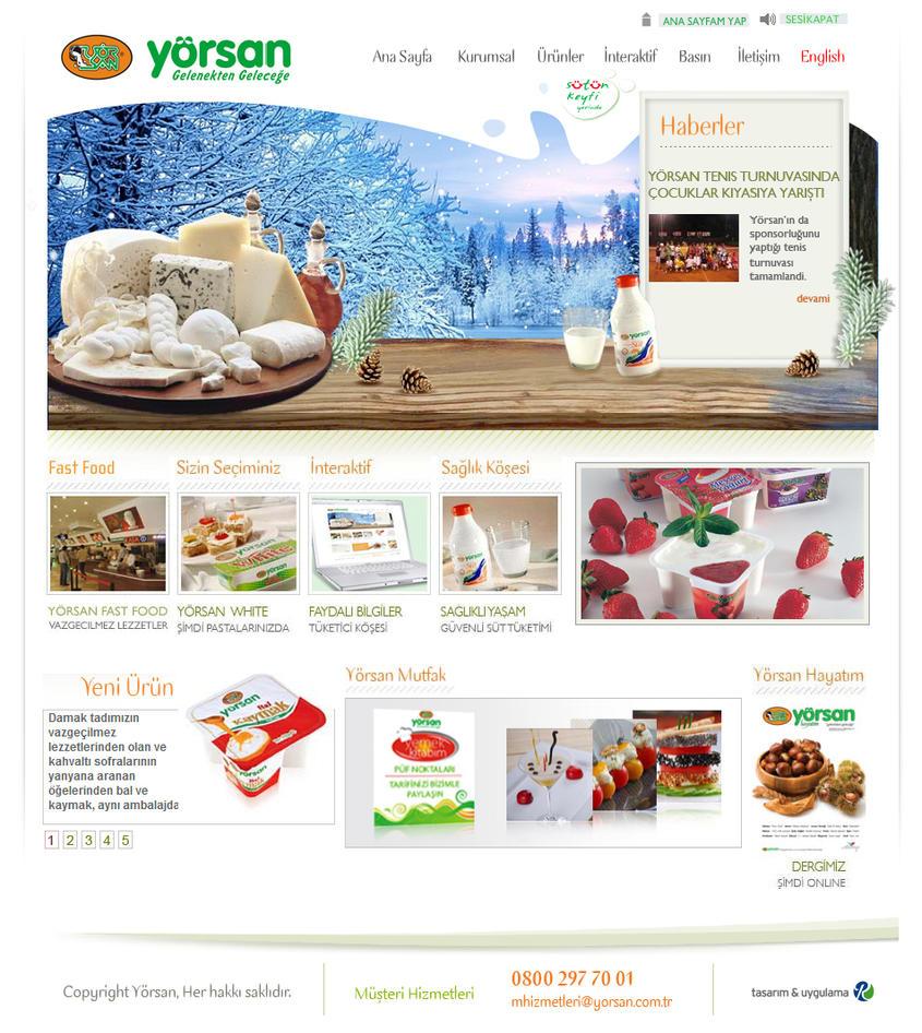 yorsan web Interface by renklisayfa