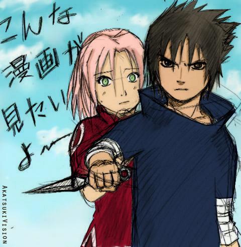 sasuke protects sakura wallpaper -#main
