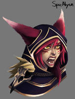 MEMOTION CONTEST : XAYAH (PLEASE VOTE) by SpicAlyce