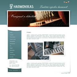 Harmonikas web