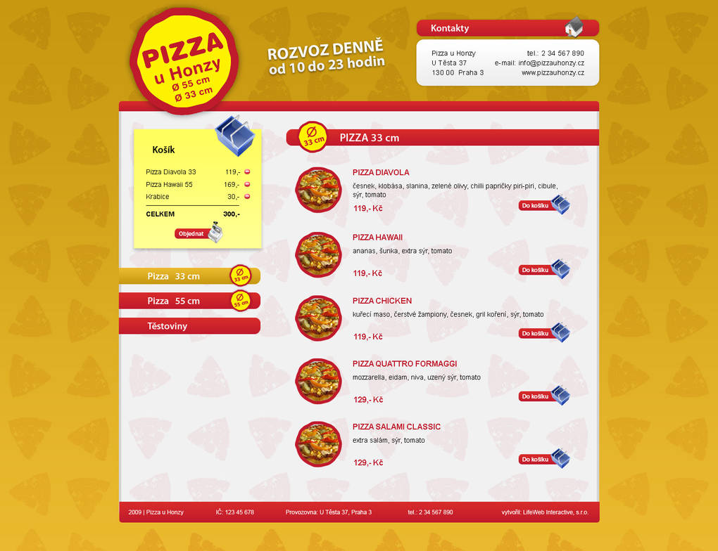 Pizza web