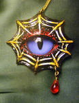 Spider Eye Pendant