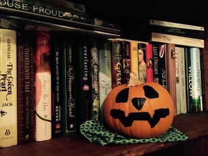 Shelf Pumpkin by bleeds