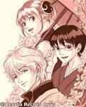 Yorozuya Trio Sketch