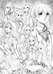 8-3-2019 [Sketch] Labyrinth of Roses - Phantasma