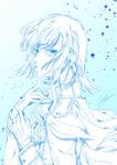 Rainbow Sketch - Chara A