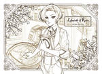 Labyrinth of Roses Sketch #1