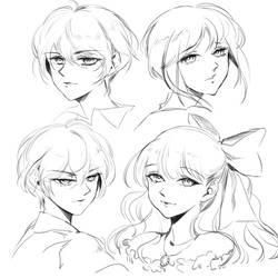 [CLOSED] Rough Sketch Commissions
