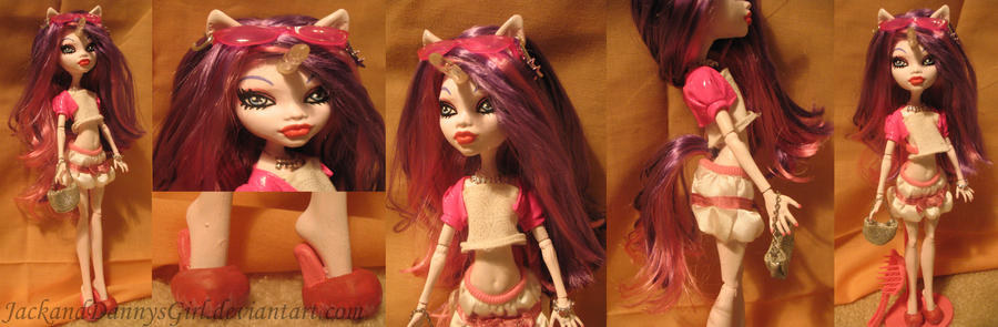 Unicorn Girl Custom MH Doll by pixiesera