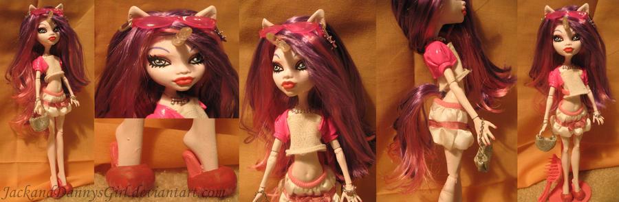 Unicorn Girl Custom MH Doll by pixiesera