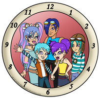 C: Time Portrait by pixiesera