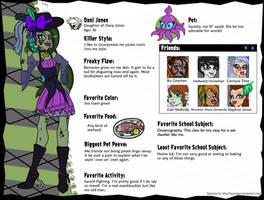 Dani Jones Updated Profile by pixiesera