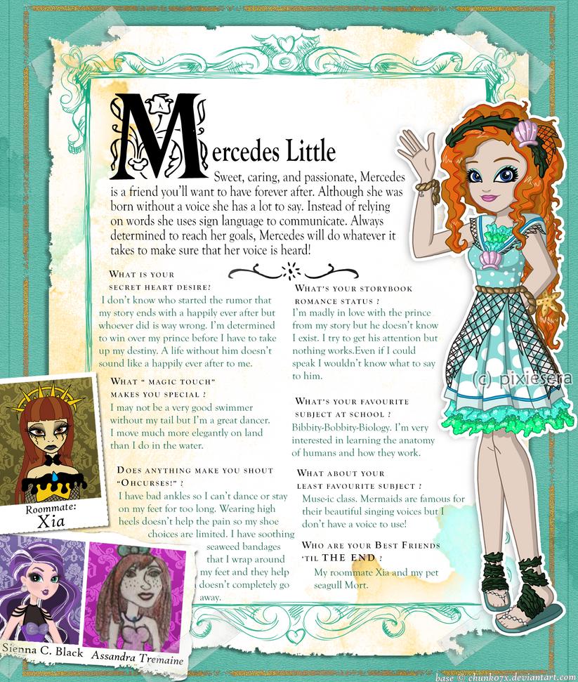 EAH: Mercedes Little Bio by pixiesera