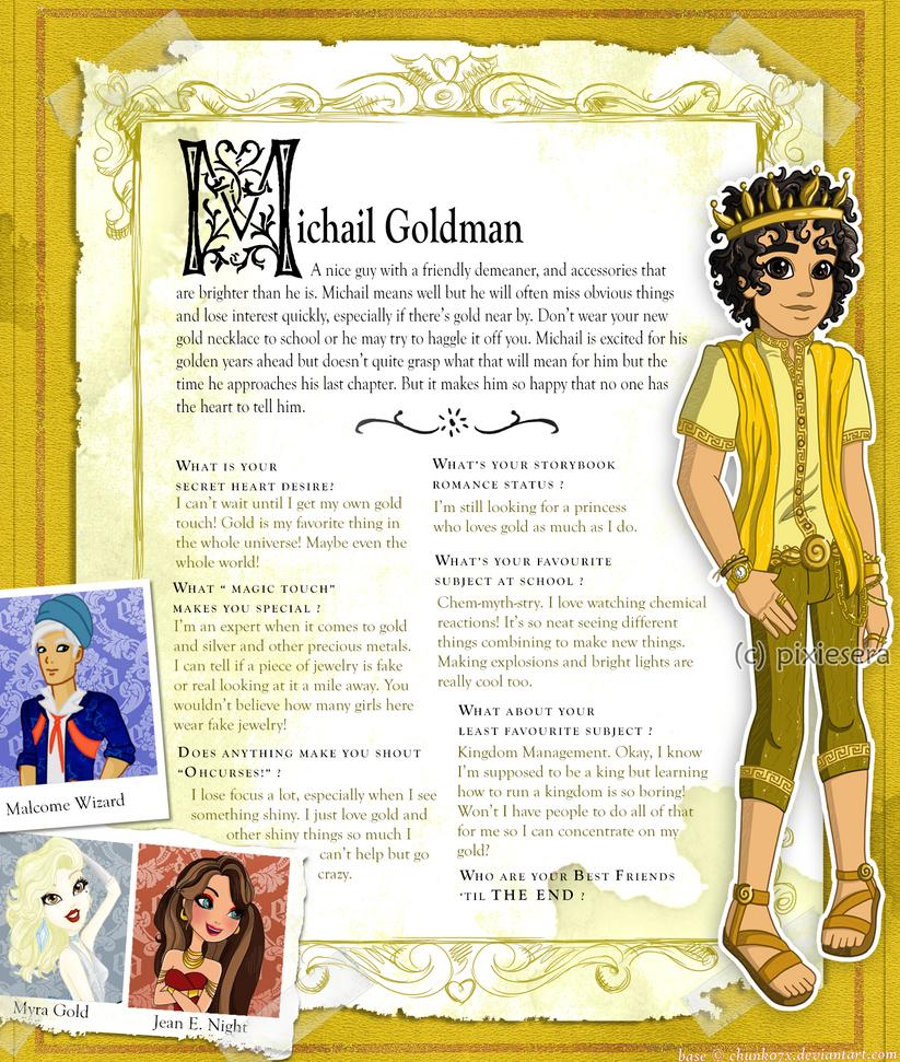 EAH: Michail Goldman Bio by pixiesera