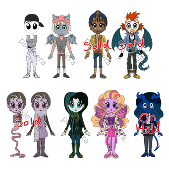 OTA: Monster Adopts (4/8 OPEN) by pixiesera