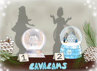 Snow Globe Lavalam Blind Adopts (Special Trait!) by pixiesera