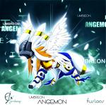 Umbreon Angemon (Adoption Open)
