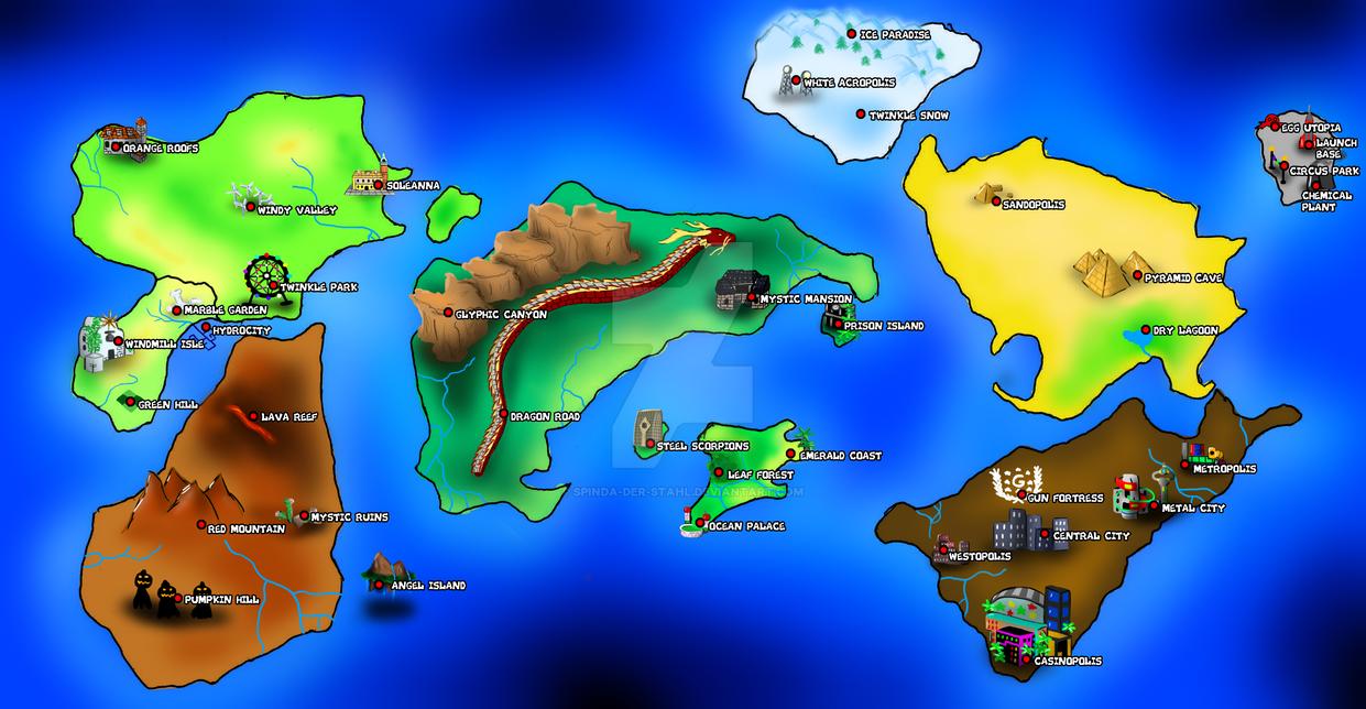 Map Island Adventure Universal E Deferente Da Universal Studio