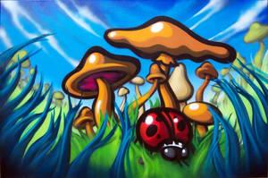 mushrooms remix by RietOne