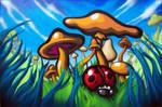 mushrooms remix