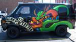 Black 13 Tattoo Van