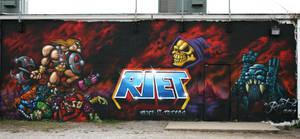 He Man Wall by RietOne