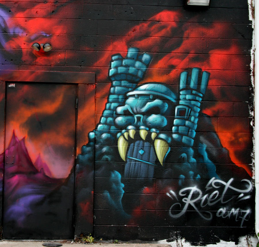 GraySkull by RietOne
