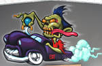 hot rod zombie