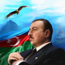 President of Azerbaijan by CZESLAW-CZERWINSKI