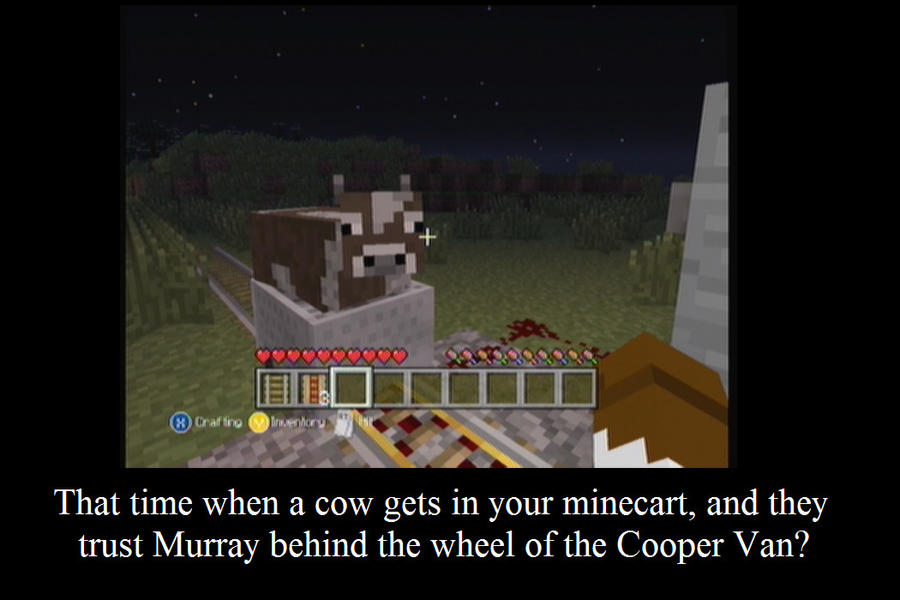Minecraft Moment by NinjaOfComedy