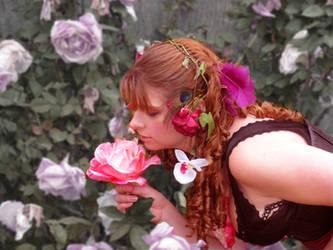 Kiss A Rose by Le-Artist-Boheme