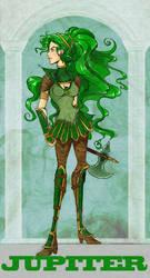 Sailor Jupiter : Silver Mill. by Le-Artist-Boheme