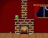 Fireplace scene pixel by TrisyDesign