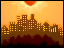 pixel landscape city by TrisyDesign