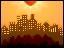 pixel landscape city by TrisyDesign